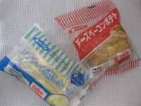 第一パン「レアチーズ蒸しケーキ&チーズベーコンポテト」