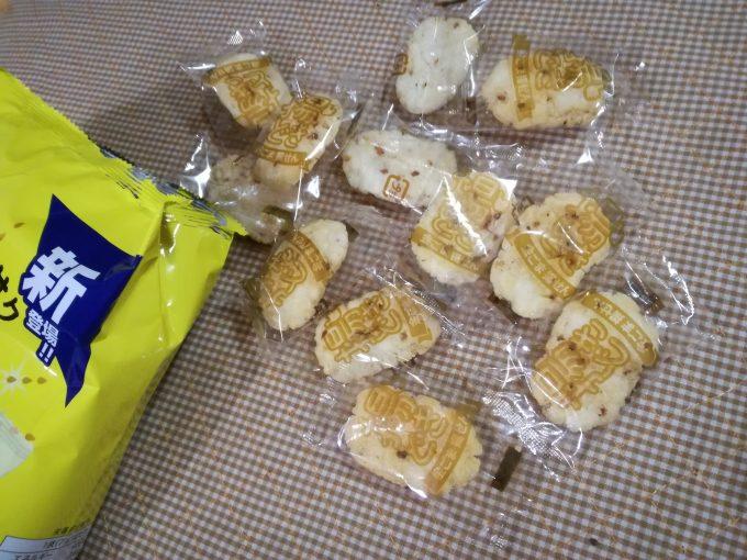 いまがたべどき♪亀田製菓「揚どき 金ごま揚せん」