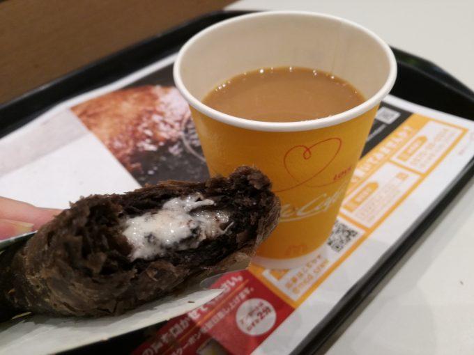 期間限定、今だけ!マクドナルド「三角チョコパイ クッキー&クリーム」